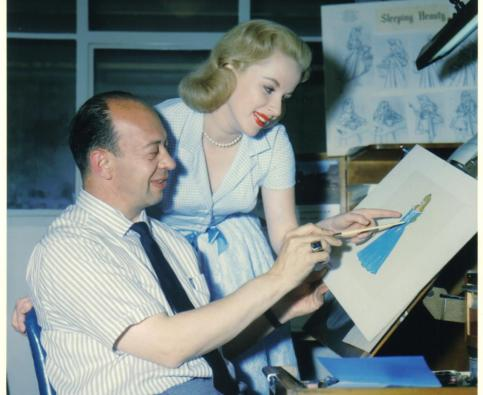 Marc Davis and Mary Costa