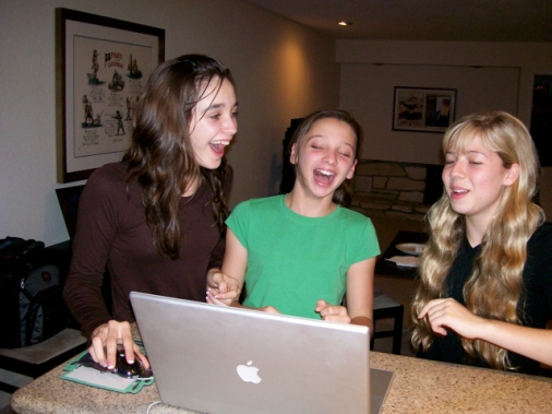 Emily, Erin and Jennette