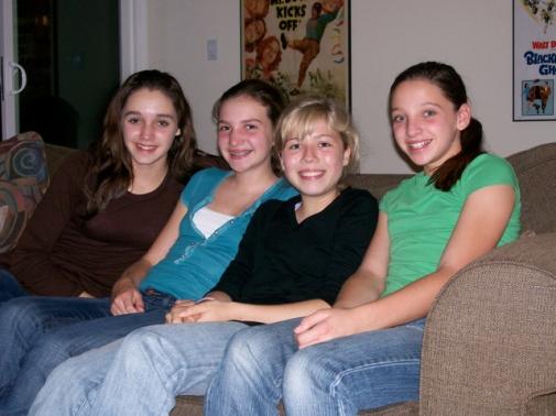 Emily, Allison, Jennette and Erin