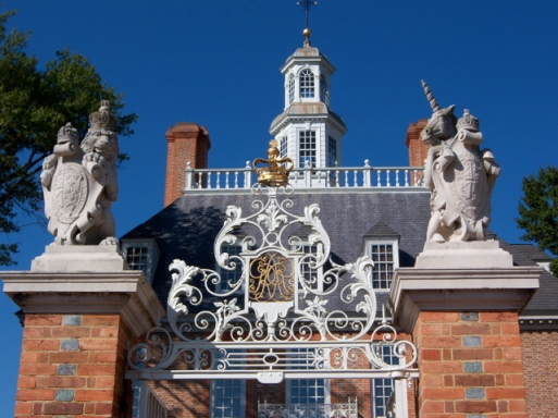 The Governor's Palace - Detail