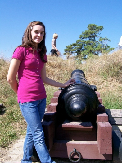 Emily and Yorktown Cannon
