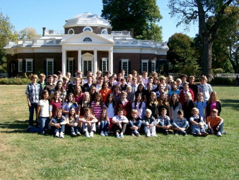 The Group at Monticello