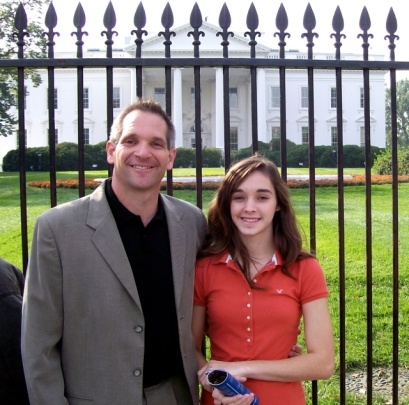 Craig and Emily at the White House