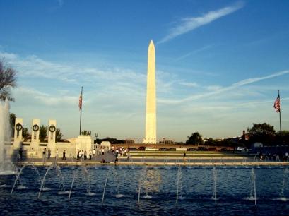 Looking Toward the Washington Monument