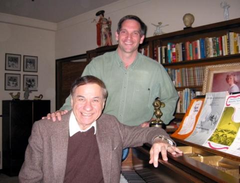 Craig and Richard at Walt's Piano