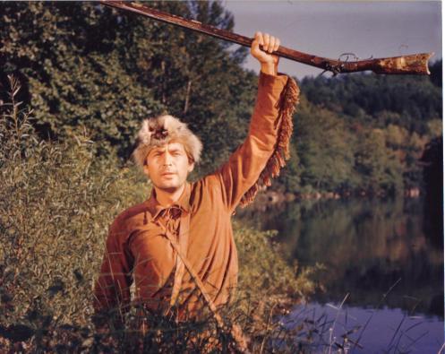 Fess Parker as Davy Crockett (color)