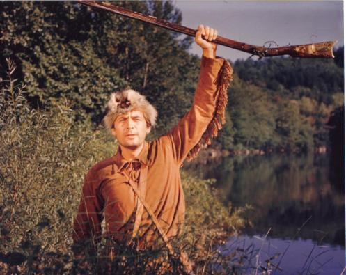 Fess Parker as Davy Crockett (color)