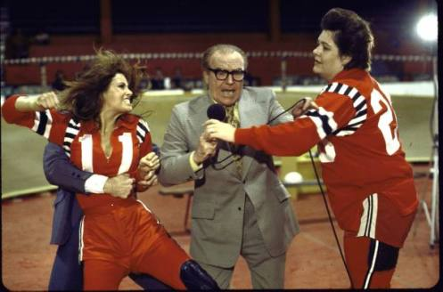 Dick Lane made his final film apearance in Kansas City Bomber (1972), starring Raquel Welch.