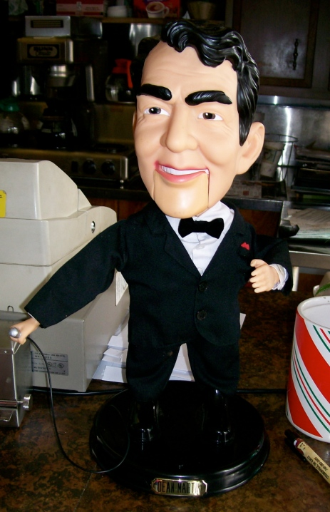Dean Martin Singing Figurine