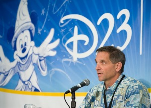 Hosting the D23 Expo Press